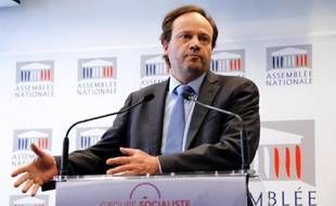 Le député PS Jean-Marc Germain à l'Assemblée nationale le 30 avril 2013 à Paris