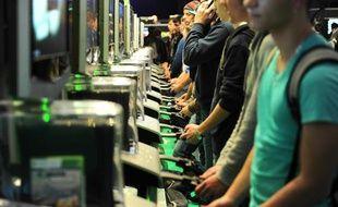 Le 30 octobre 2012 à la Paris Games Week.