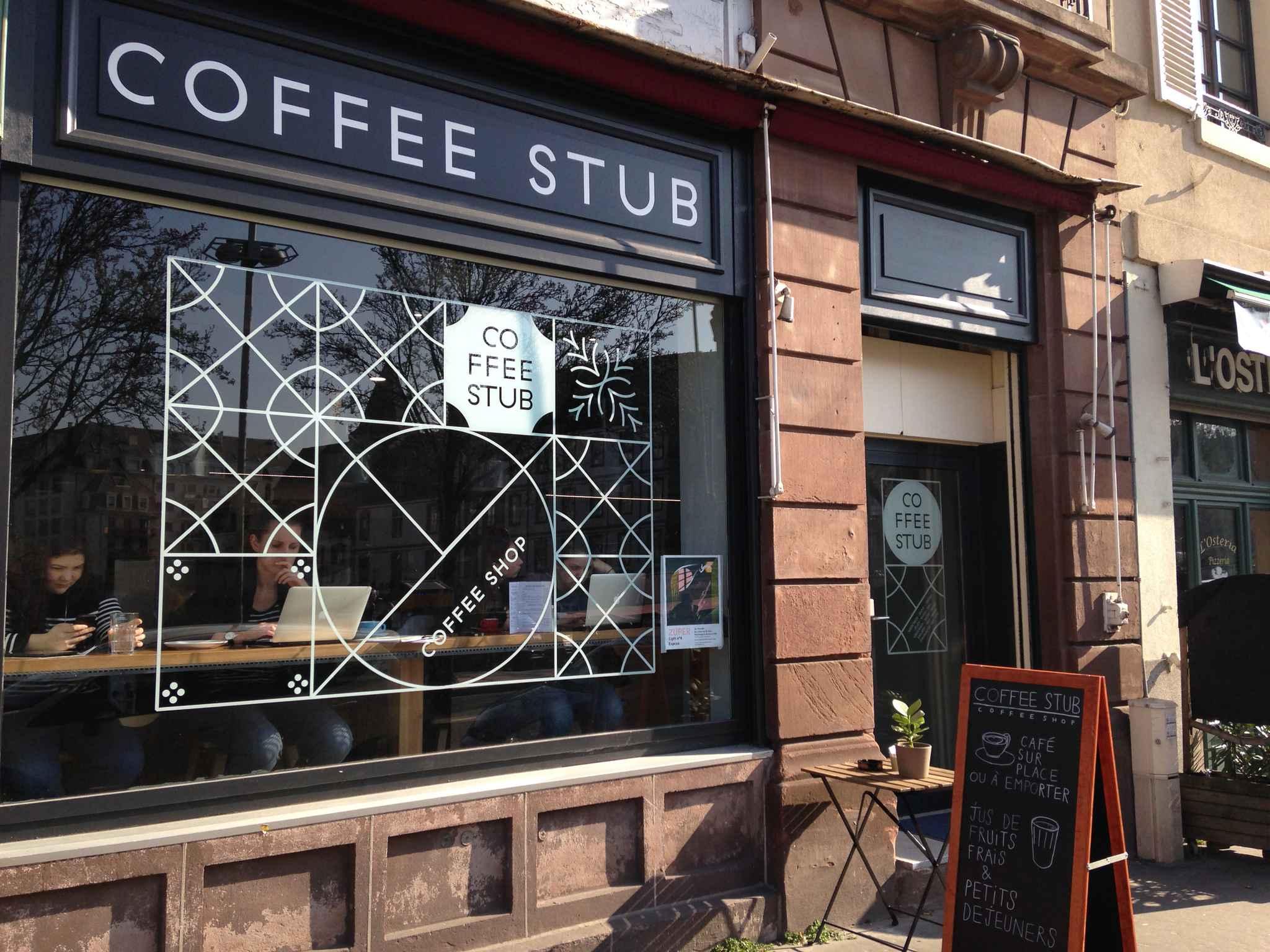 strasbourg caf et service compris tout est 100 alsacien au coffee stub. Black Bedroom Furniture Sets. Home Design Ideas