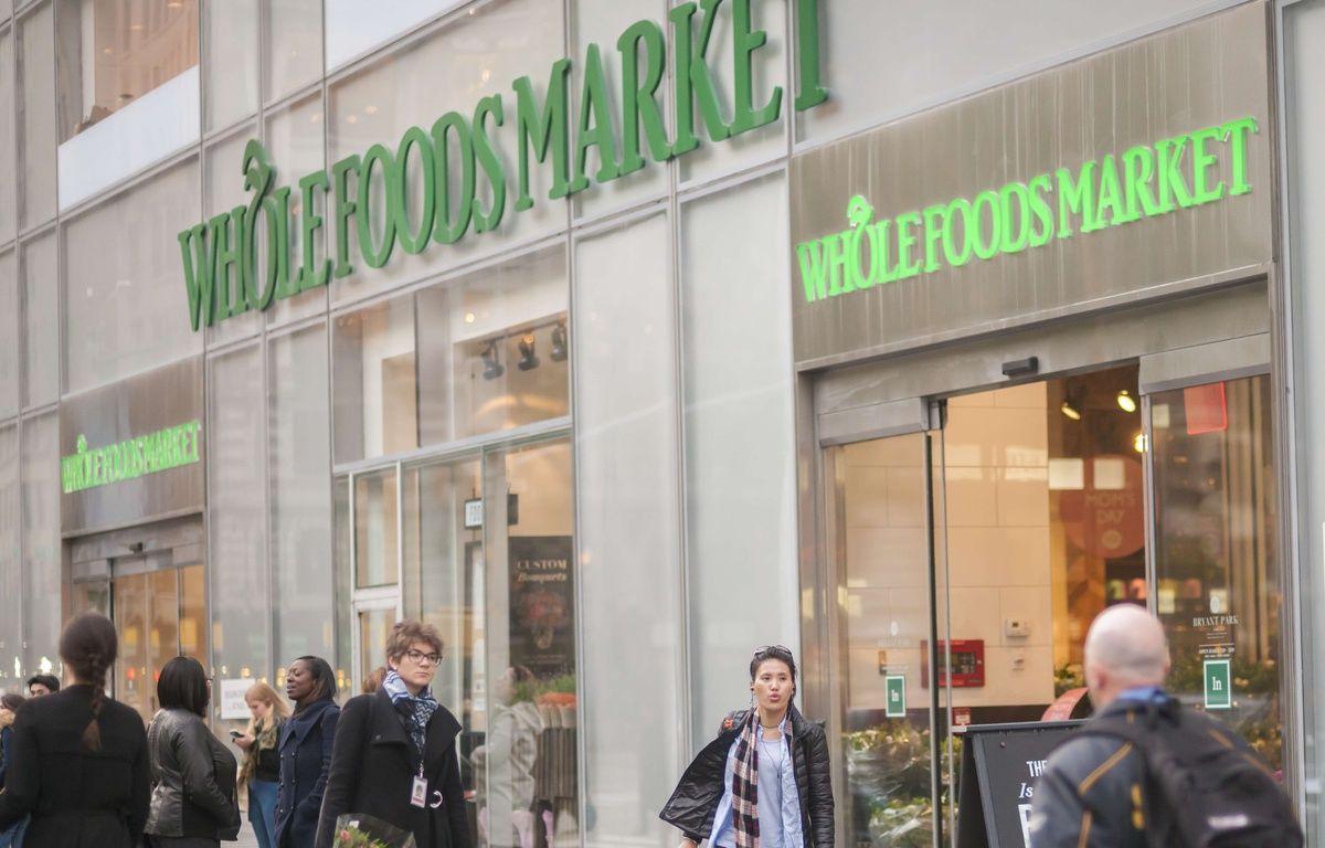 Un magasin Whole Foods à New-York le 9 mai 2017. – Richard B. Levine/NEWSCOM/SIPA