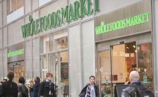 Un magasin Whole Foods à New-York le 9 mai 2017.