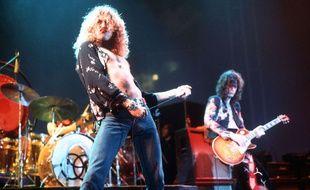 Led Zeppelin en 1975