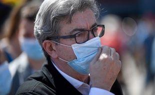 Jean-Luc Mélenchon à la manifestation des soignants à Marseille, le 16 juin 2020.