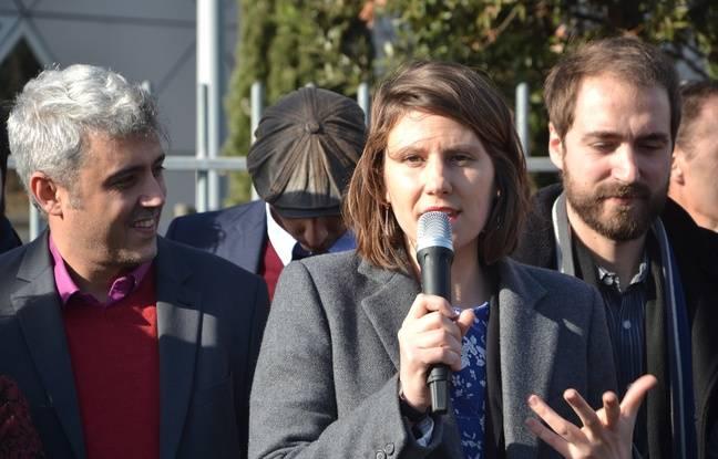 Alenka Doulain, la tête de liste du mouvement Nous sommes à Montpellier