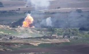 Vidéo des conflits entre l'Arménie et l'Azerbaïdjan