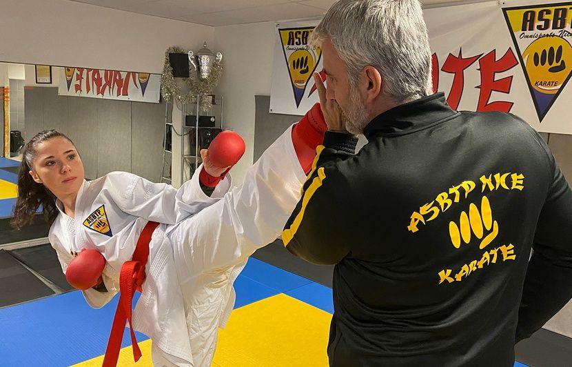 Nice : Infirmière et karatéka, May-Ly Picard se bat pour gagner sa place aux JO de Tokyo 2020