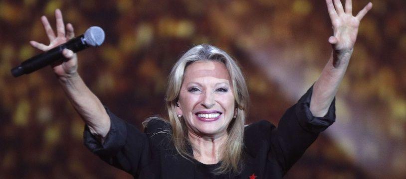 L'artiste Véronique Sanson, lors des 32e Victoires de la Musique, à Paris le 10 février 2017