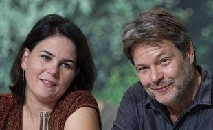 Les dirigeants des Verts allemands, Annalena Baerbock et Robert Habeck, le 17 novembre 2019.