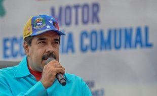 Le président du Venezuela Nicolas Maduro, le 14 mai 2016 à Caracas