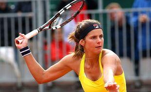 L'Allemande Julia Goerges à Roland-Garros le 26 mai 2014.