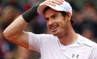 Andy Murray à Roland-Garros le 3 juin 2016.