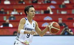 Céline Dumerc joue sa dernière compétition avec l'équipe de France.