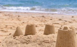 Un château de sable basique qui, lui, n'a rien gagné au Guinness des Records. (illustration)