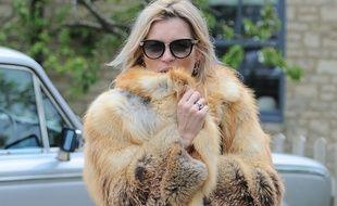 Le mannequin Kate Moss en mai 2015.