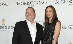 Harvey Weinstein et Georgina Chapman à Cannes.