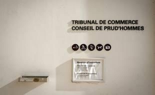 Le tribunal de commerce de Bobigny, en 2018.