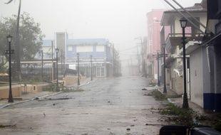 L'île de Porto Rico balayée par l'ouragan Maria, le 20 septembre 2017.