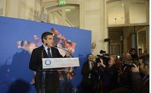 François Fillon, le 15 janvier 2014 à Paris.