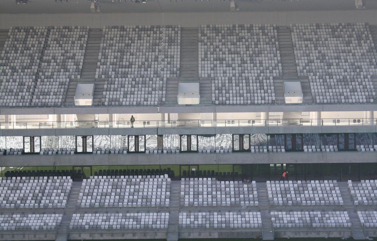 Le 11 fevrier 2015, visite du nouveau stade de Bordeaux –