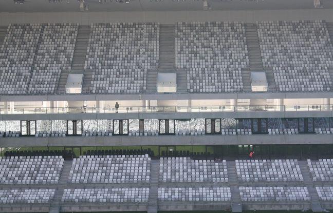 Le 11 fevrier 2015, visite du nouveau stade de Bordeaux