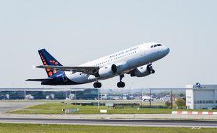 Un A319 de Brussels Airlines. Illustration.