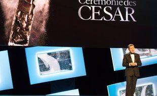 Dany Boon lors de la 40e cérémonie des César en 2015