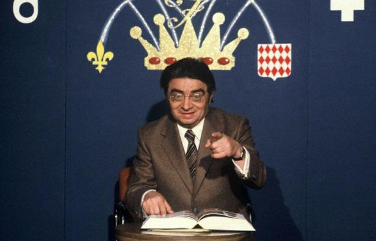 Jacques Capelovici alias Maître Capello sur le plateau de l'emission «Francophonissime» sur TF1. – TF1/ SIPA