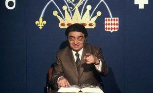 Jacques Capelovici alias Maître Capello sur le plateau de l'emission «Francophonissime» sur TF1.