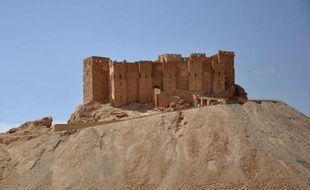 La citadelle de la cité antique de Palmyre, en Syrie, photographiée le 18 mai 2015