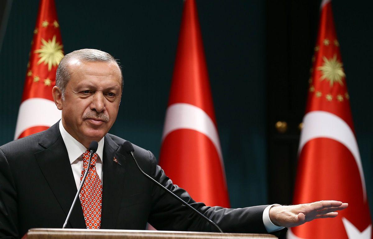 Le président turc Recep Tayyip Erdogan. – YASIN BULBUL / AFP