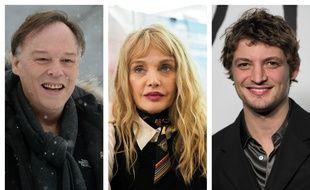 Christophe Gans, Arielle Dombasle et Niels Schneider, membre du jury long-métrage du 27e Festival de Gérardmer.