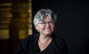 La sociologue Dominique Méda, en 2017 à Paris.