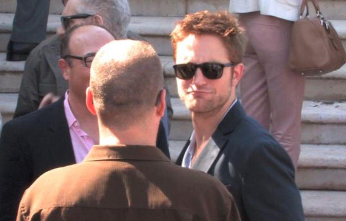 Robert Pattinson à Cannes le vendredi 25 mai 2012. – Stormshadow / 20minutes