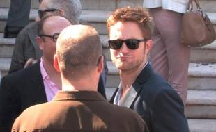 Robert Pattinson à Cannes le vendredi 25 mai 2012.