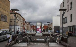 A Molenbeek, district de la commune de Bruxelles en Belgique, le 23 mars 2016.
