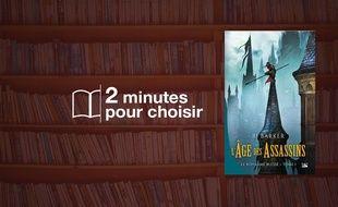 «L'âge des assassins» par RJ Barker chez Bragelonne (25€, 384 p.).