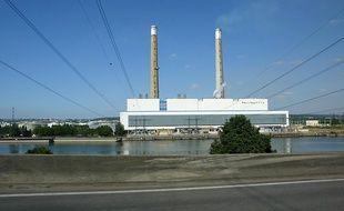 La centrale EDF de Porcheville (Yvelines).