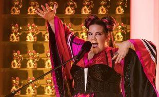 Netta Barzilai, à l'Eurovision, le 7 mai 2018.