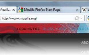 La nouvelle interface de Firefox 4