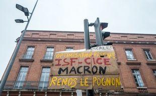 Lors de l'acte 53 des «gilets jaunes» à Toulouse, le 16 novembre 2019. Illustration.
