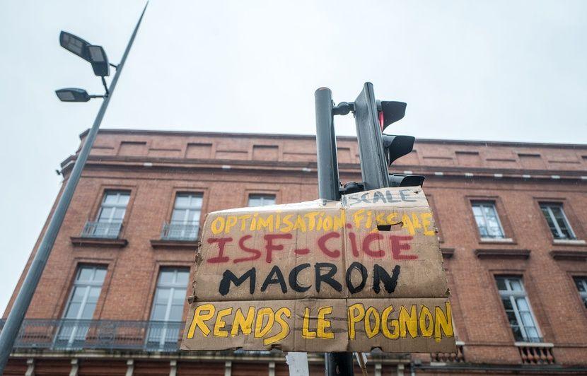 Toulouse : Sept interpellations samedi lors de la manifestation des « gilets jaunes » et des syndicats