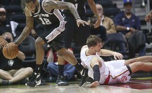 Rasual Butler lorsqu'il portait le maillot des Spurs.