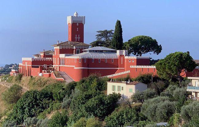 Le château de Crémat, sur les collines de Nice