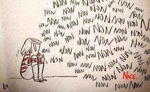 La réaction de la dessinatrice Louison après l'attaque à Nice, qui a fait au moins 80 morts.