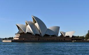 Vue de l'Opéra de Sydney en Australie.