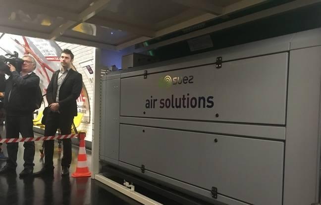Les appareils de traitement de l'air sont installés à titre expérimental pendant 6 mois et pourront ensuite être reconduits.