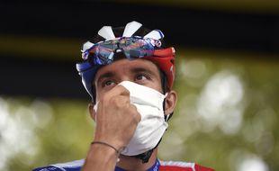 Thibaut Pinot lors du Tour de France, le 6 septembre 2020.