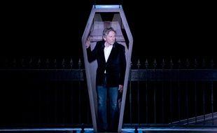 Roman Polanski le 17 mars 2014 au théâtre Mogador