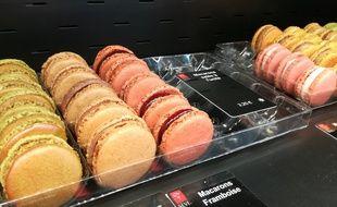 Limonest, le 1er mars 2018. 20 Minutes a suivi la fabrication des macarons à la Maison Sève.