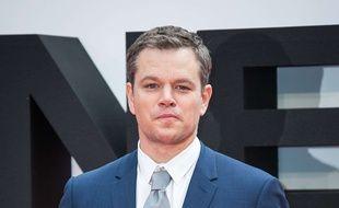 Matt Damon à la première de «Jason Bourne» à Londres le 12 juillet 2016.
